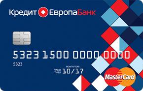 """Кредитная карта от банка """"Кредит Европа"""""""