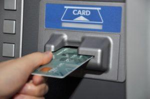 Снятие наличных с кредитки в банкомате другого банка