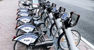 Велосипеды напрокат от ВТБ