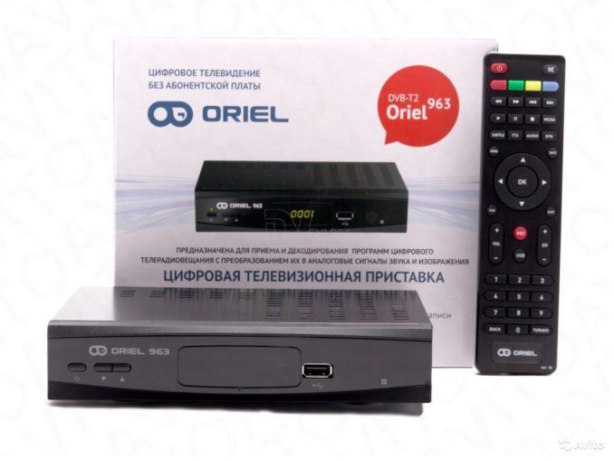 Цифровая телевизионная приставка Oriel