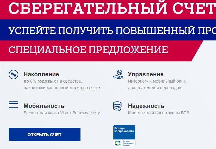 Открытие сберегательного счета в Почта Банке